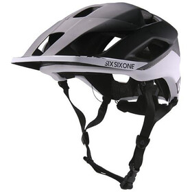 SixSixOne EVO AM Patrol Cykelhjelm, black/white